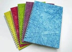 spiral bound art books